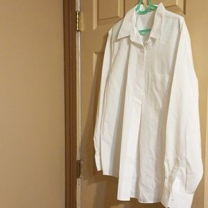 White foxcroft buttoned shirt